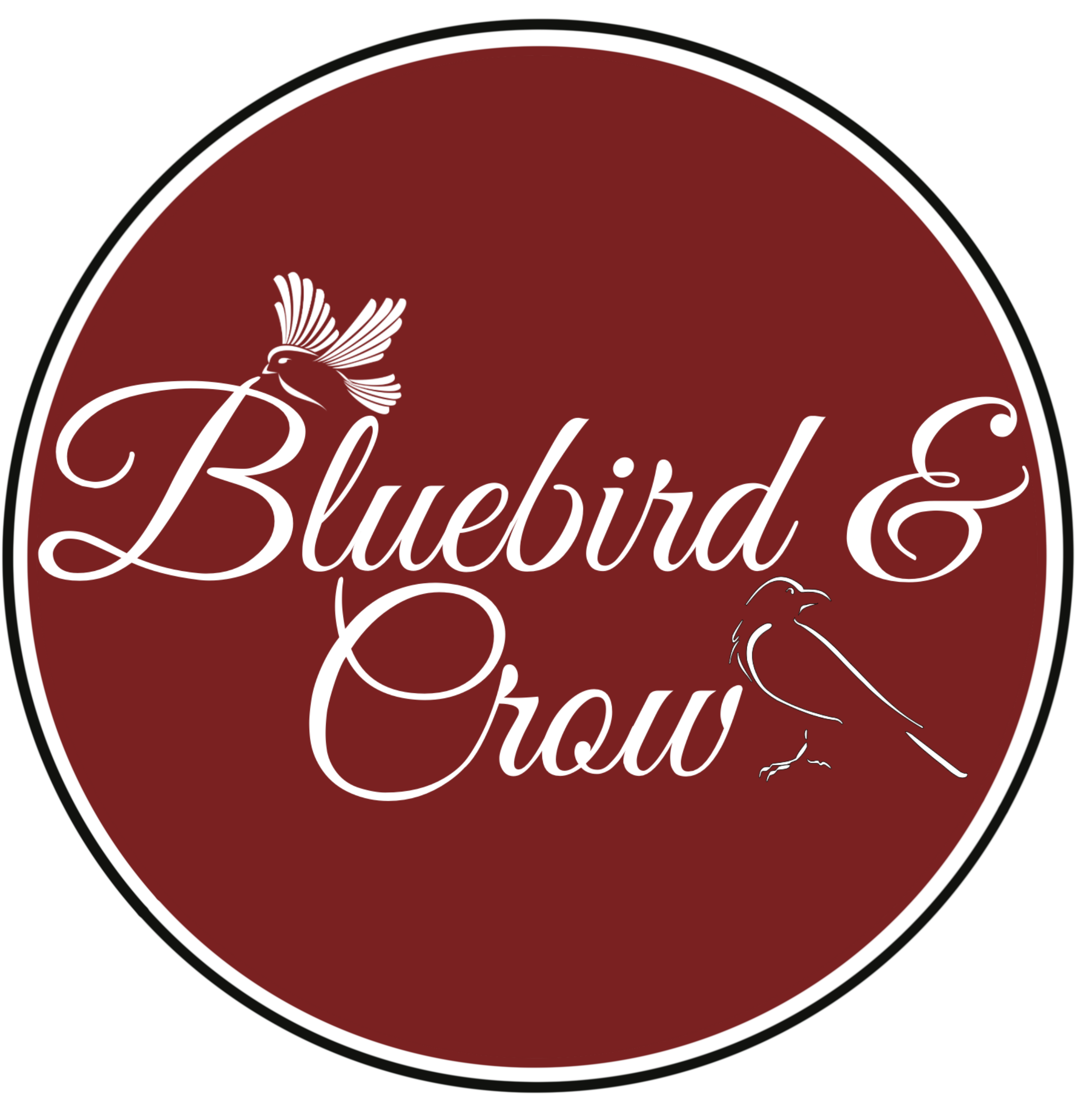 Bluebird and Crow Logo- by- Kristy Tracey