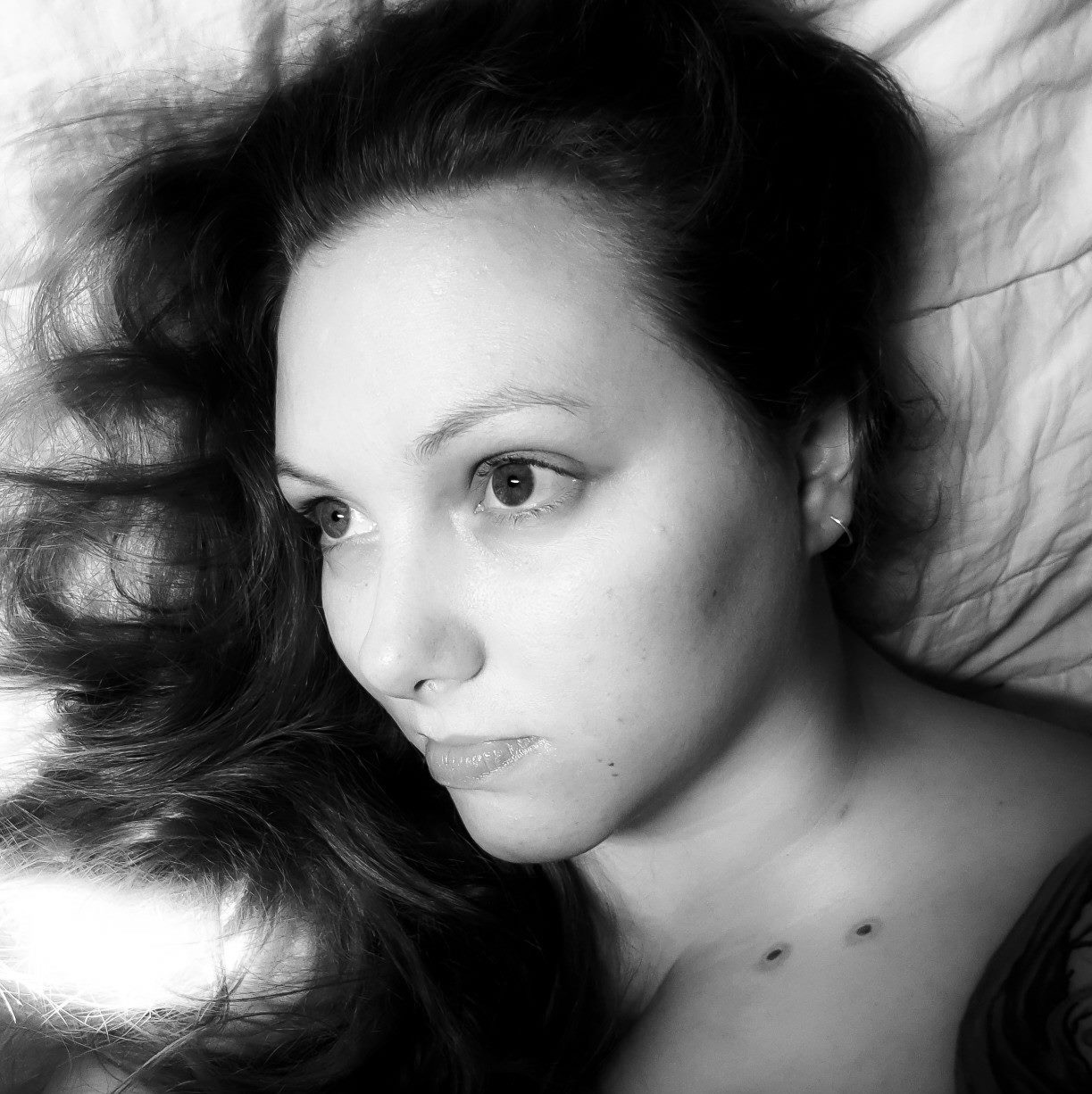 Kristy (Taominx) self-portrait.